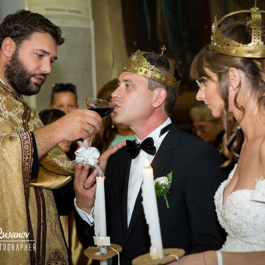 Сватбеният ден на Стела и Евлоги